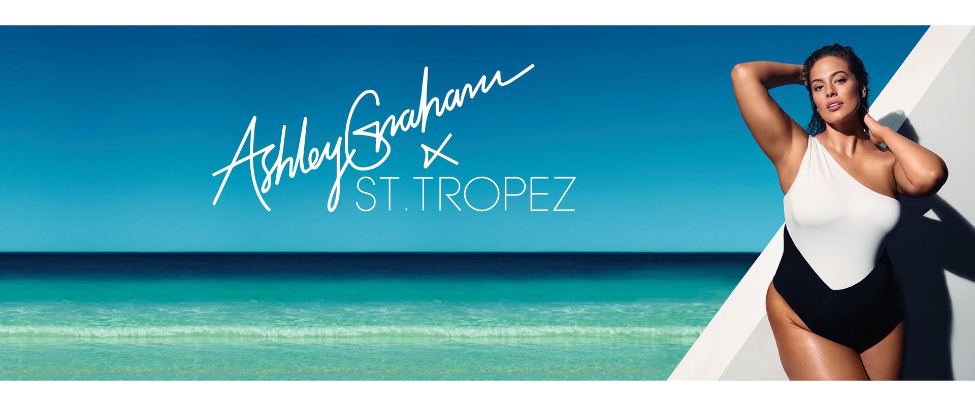 Ashley Graham X St. Tropez