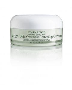Eminence: Bright Skin Overnight Correcting Cream