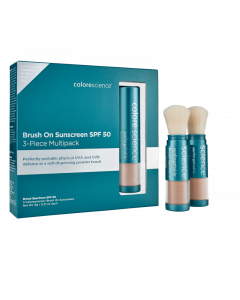Colorescience: Protection Enviroscreen Sunforgettable FPS 50 3 Pièces - Médium