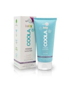 Coola: Mineral Baby Organic SPF 50 Unscented Sunscreen
