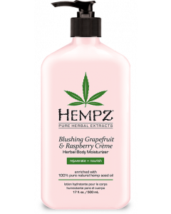 Hempz:  Blushing Grapefruit & Raspberry Herbal Body Moisturizer