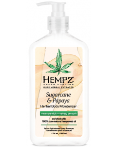 Hempz: Lotion Hydratante pour le corps Sugarcane & Papaya