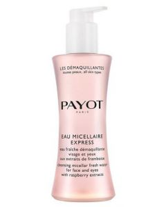 Payot: Cleansing Micellar Fresh Water for Face and Eyes with Raspberry Extracts