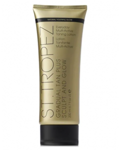 St-Tropez: Gradual Tan Plus Sculpt & Glow Everyday Multi- Active Toning Lotion