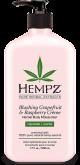 Hempz:  Blushing Grapefruit & Raspberry Herbal Body Moisturizer