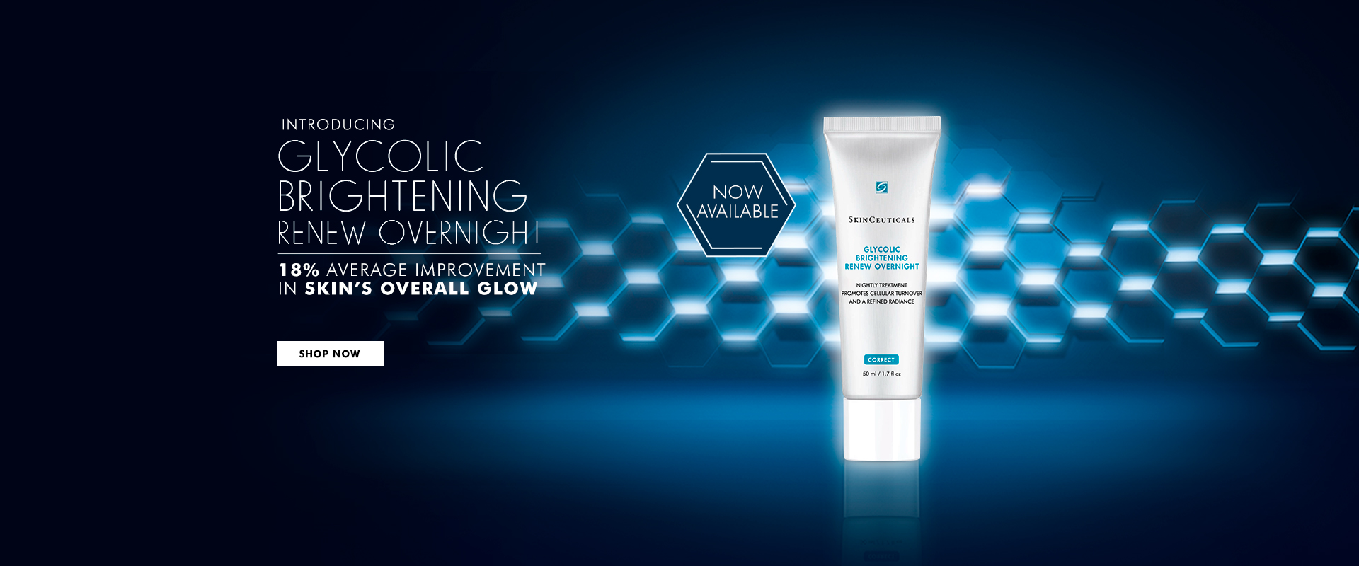 NEW Glycolic Brightening Renew Overnight